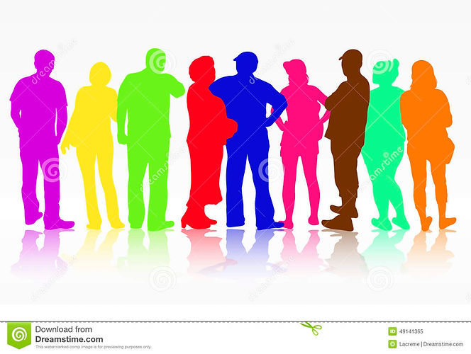 people-silhouettes-group-women-men-color