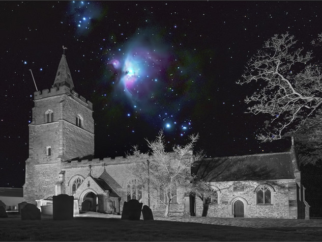 3rd Orion over St.Marys by Rawdon Bottom