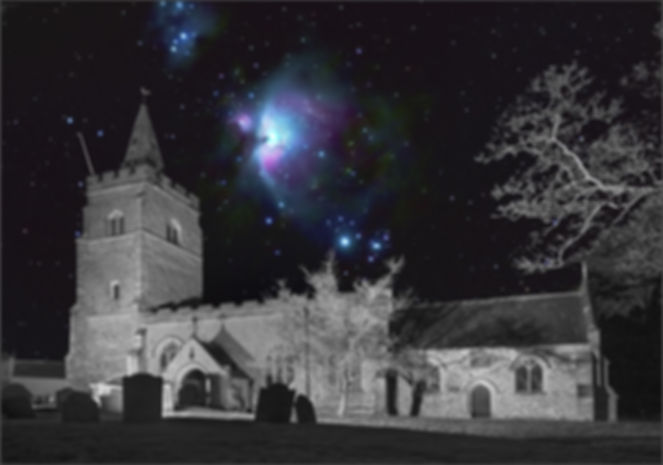 3rd - Orion over St Mary's by Rawdon Bot