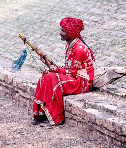 Indian Busker