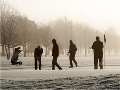 Early Morning Four-ball