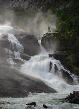 Husedalen Falls