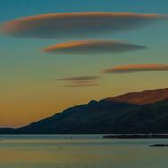 Evening over Loch Earn
