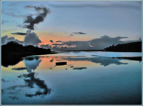 Sunset Newport Wales