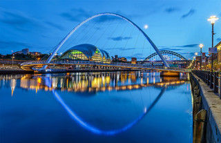 2nd Blue Hour on the Toon by Paul Wiles