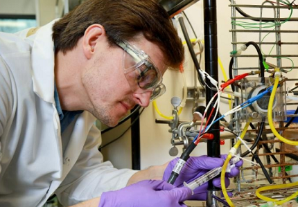Hydrogen produced from wastewater using 'electrical bacteria'