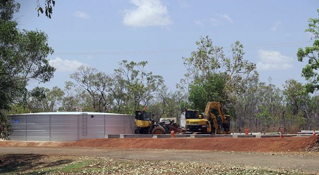 Precautionary PFAS water treatment plant in NT