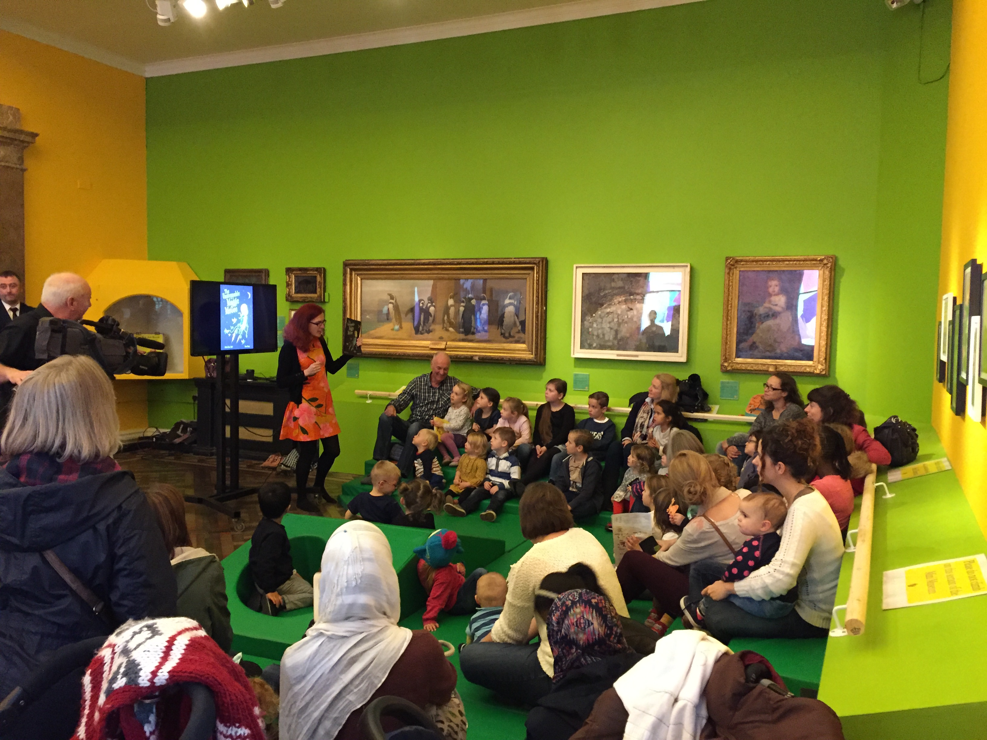 Reading at the BMAG
