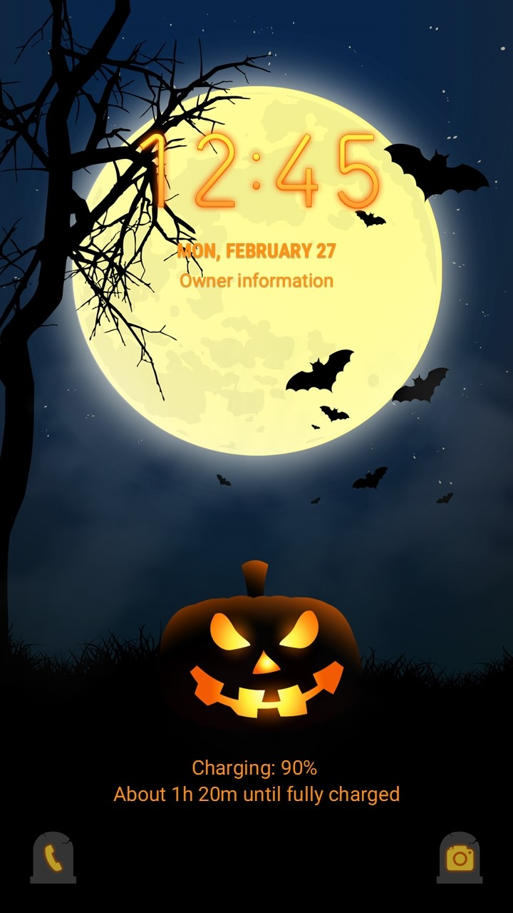 Midnight Halloween_lockscreen
