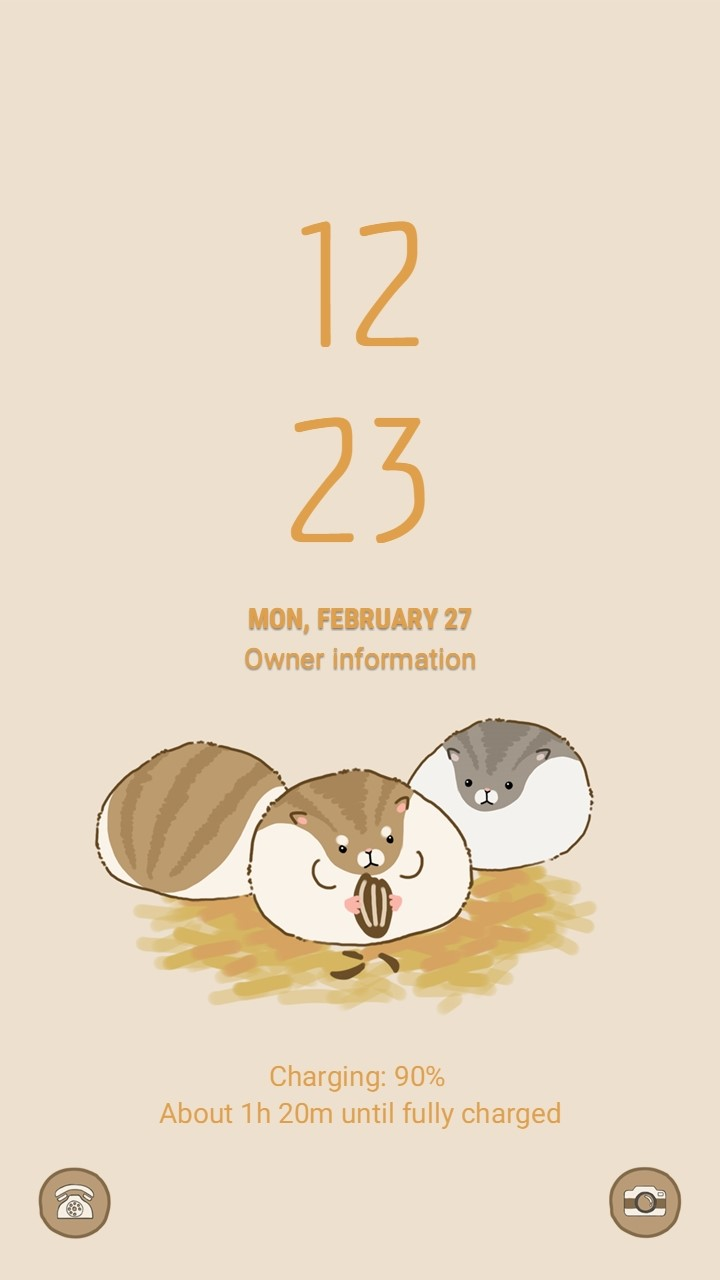 Hammochi_lockscreen