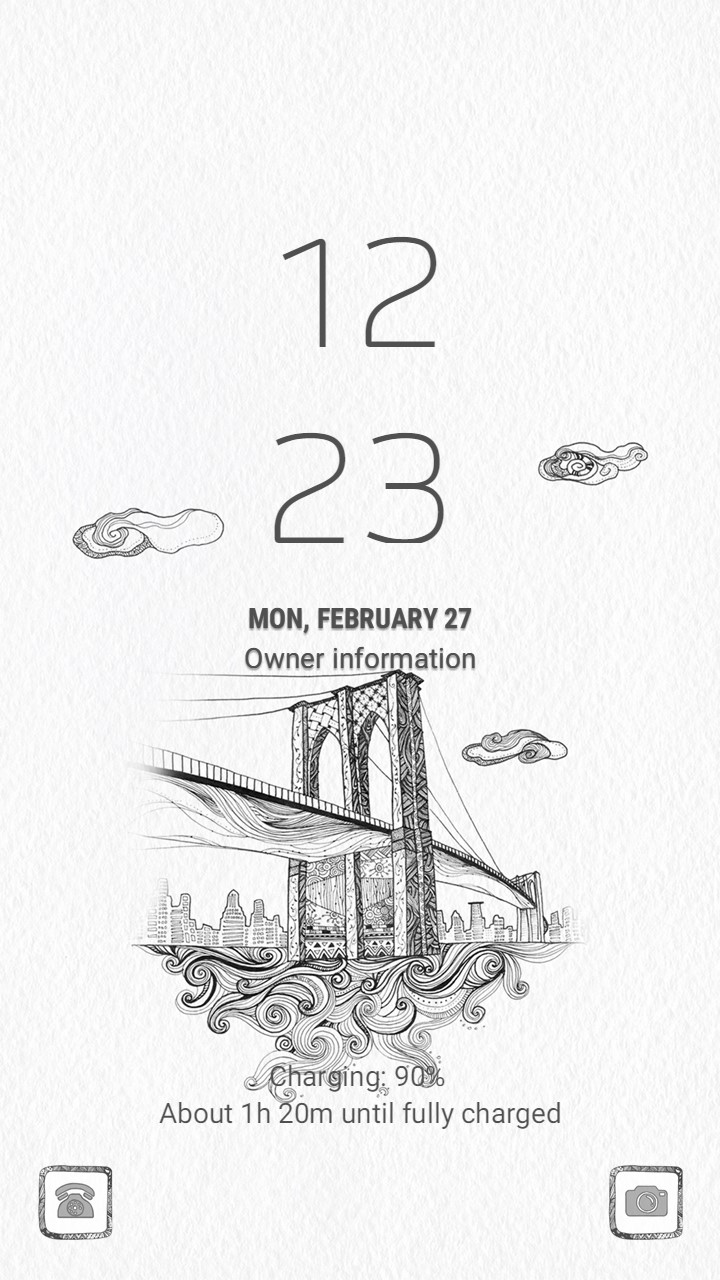 Bridge city_lockscreen