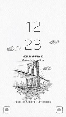Bridge city_lockscreen