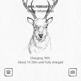 Pattern deer_