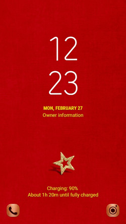 Red carpet star_lockscreen