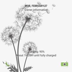 Flying dandelion