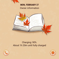 Maple Leaf Bookmark