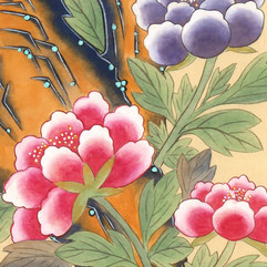Moran-do (Paintings of Red Peonies