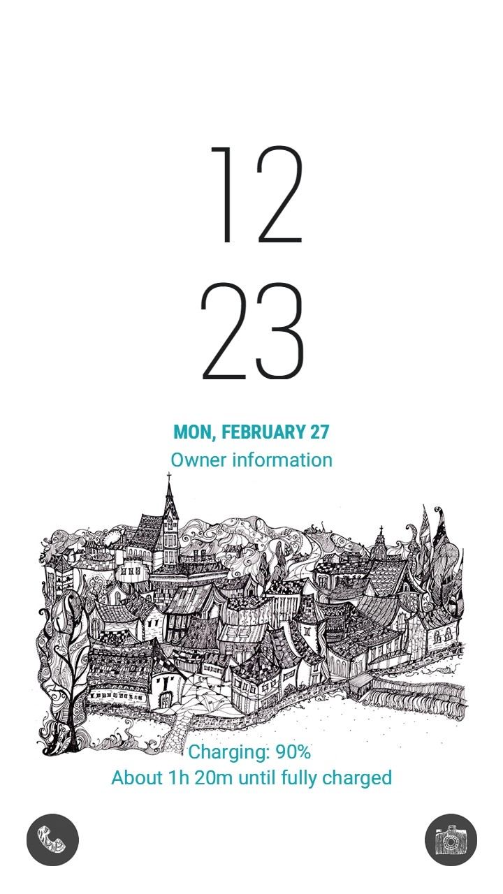 A fairy-tale city CeskyKrumlov_lockscreen