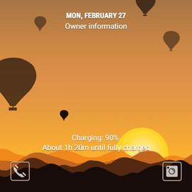 Romantic Hot air balloon (ANI)
