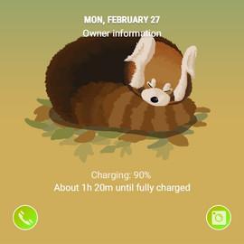 Lovesome Lesser Panda