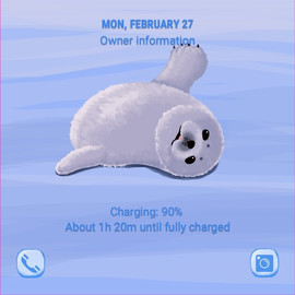 Bored little Harp Seal (ANI)