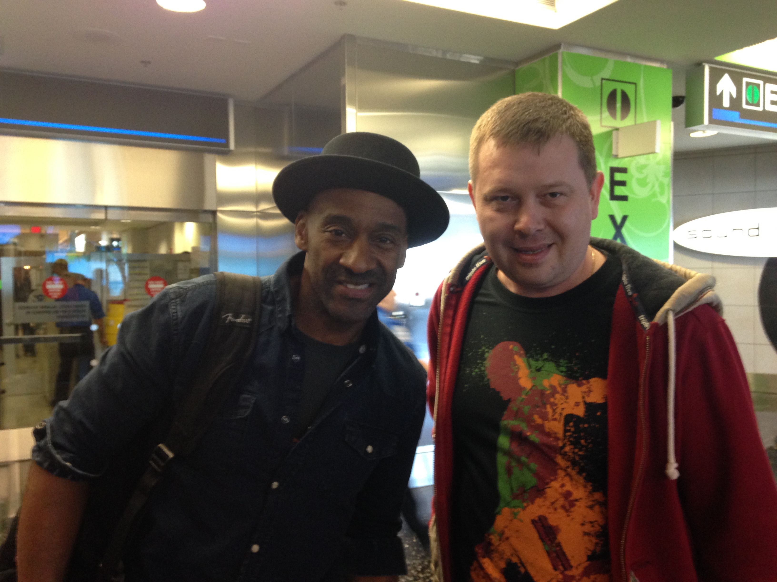with Marcus Miller at Miami Intl_