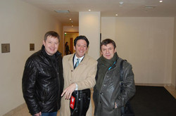 Facebook - After the gig with John Pizzarelli & IBBB last night at Moscow Intl.j