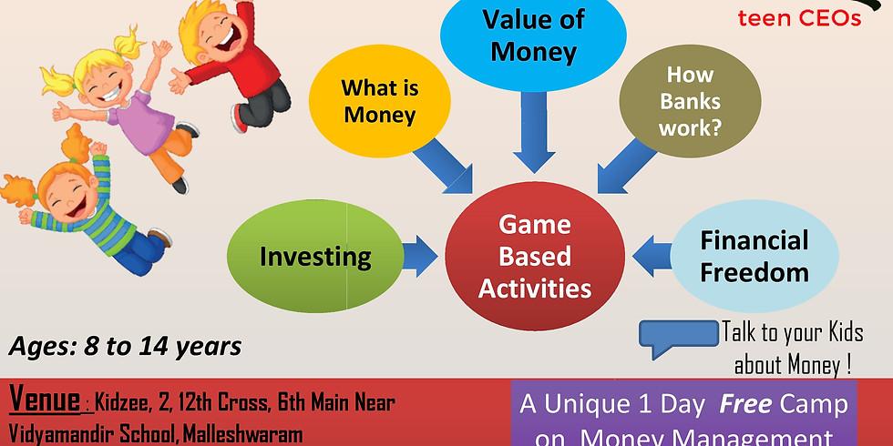 1 DAY workshop on Money Management Skills-Malleshwaram