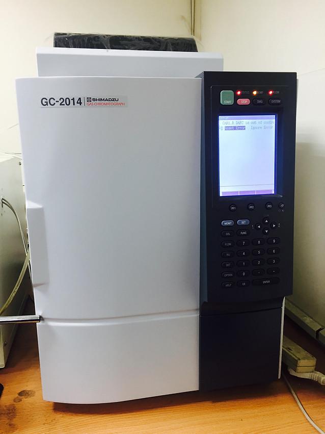 氣相色譜質譜  台南市大學路一號自強校區  GC/MS 代測服務
