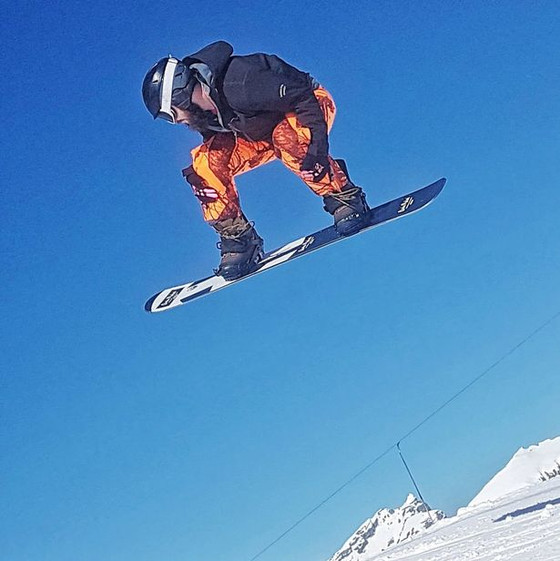Leap of Faith Scots Amputee Snowboarder