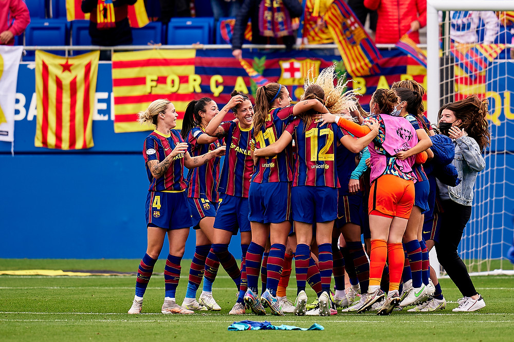 FC Barcelona stun Chelsea and win the 2021 UEFA Women's ...