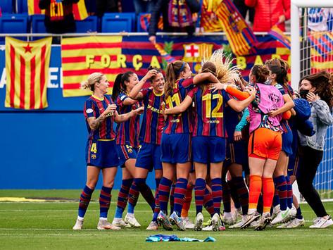 FC Barcelona stun Chelsea and win the 2021 UEFA Women's Champions League