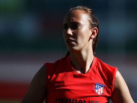 Virginia Torrecilla returns to Atlético Madrid ten months after being diagnosed with a brain tumor
