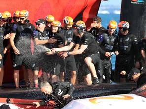 Team New Zealand wins the 2021 America's Cup