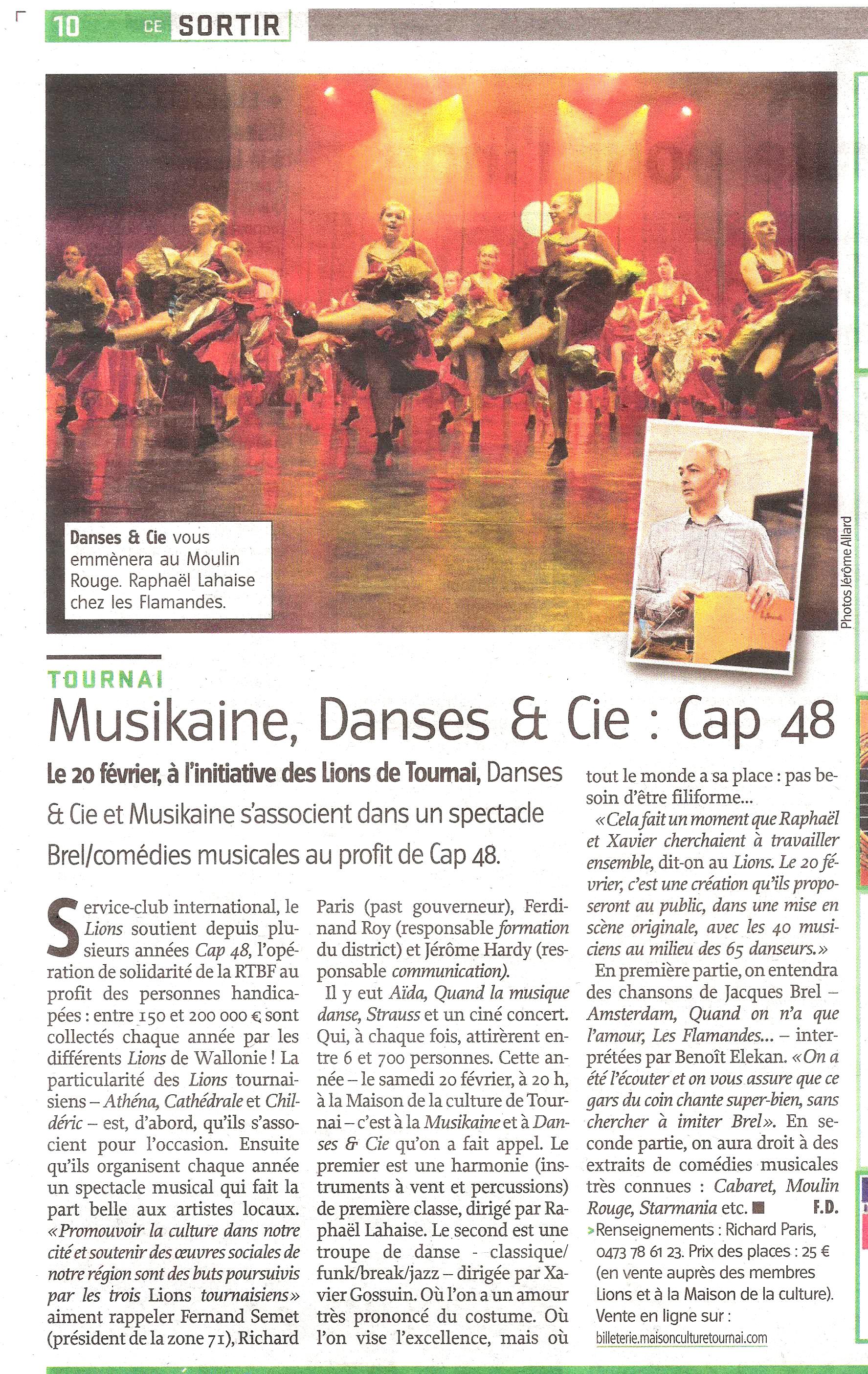 20160204 Courrier Musikaine et danses et cie