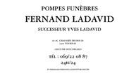 Funerailles Fernand Ladavid