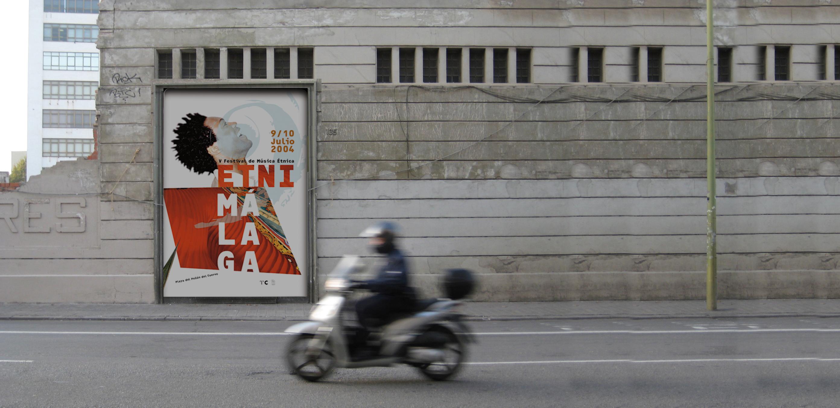 etni malaga poster, dunkel