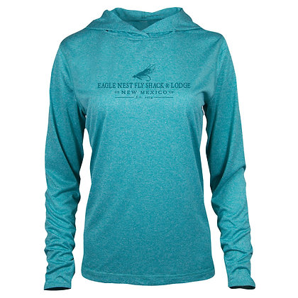 Womens Performance Hooded Shirt