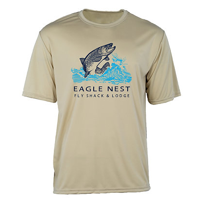 Trout Jump Short Sleeve Performance T-shirt