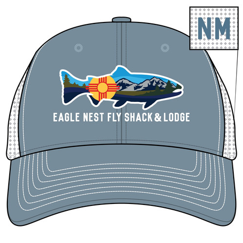 61ccd356 Eagle Nest Fly Shack & Lodge New Mexico Fish Hat