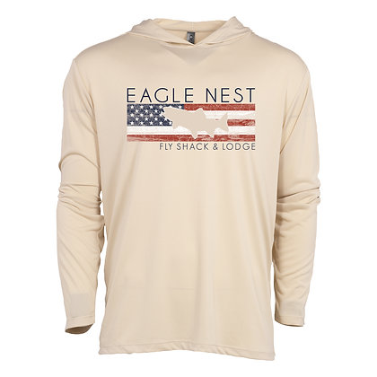 Trout America Performance Long Sleeve Sand