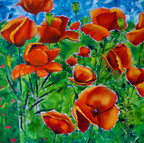 """""""To See A Poppy Flowing In the Sun"""""""