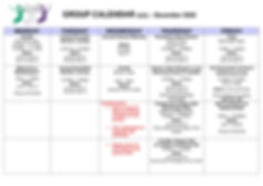 Group Calendar Template T3&4 2020 for we