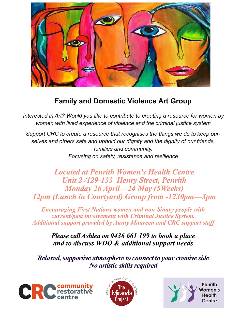 Domestic  Family Violence Art Group 2021