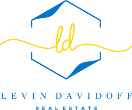 Levin Davidoff Logo blue and gold text.p