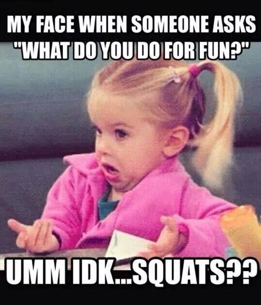 Friday squats