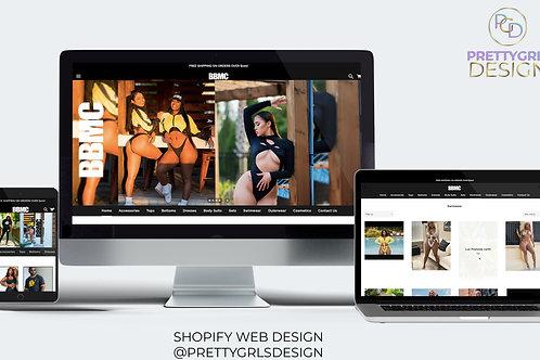 SHOPIFY WEB REVAMP