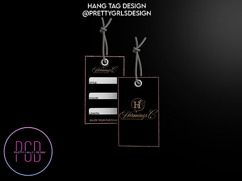 HAIR TAG DESIGN