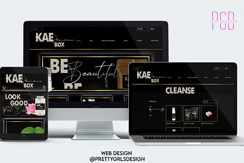 WIX GOLD PACKAGE WEB DESIGN
