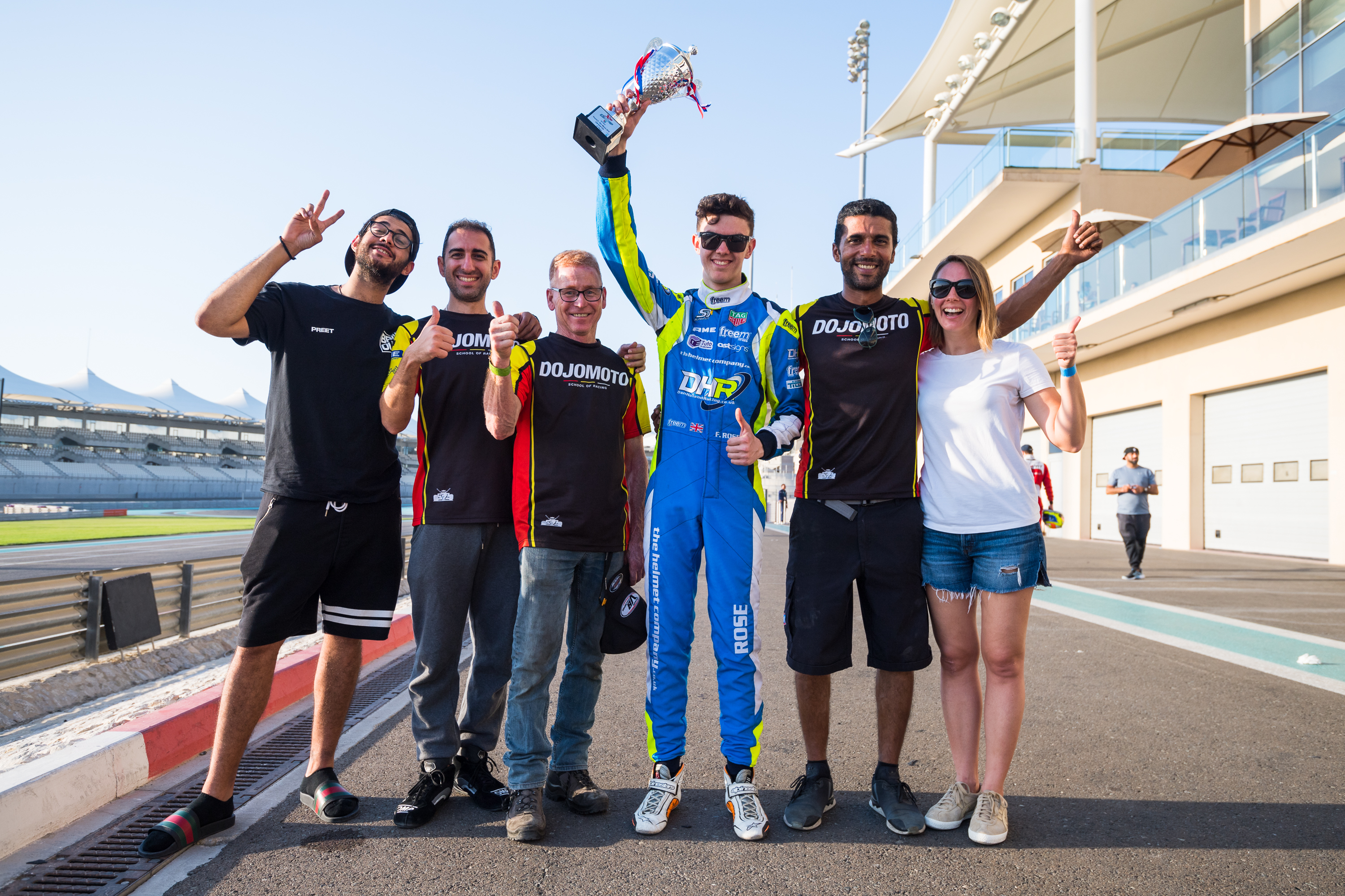 Fraser Rose 3rd pace at Yas